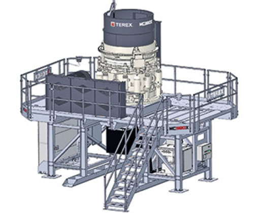 The New MC380X Cone Module by Terex® Minerals Processing Systems