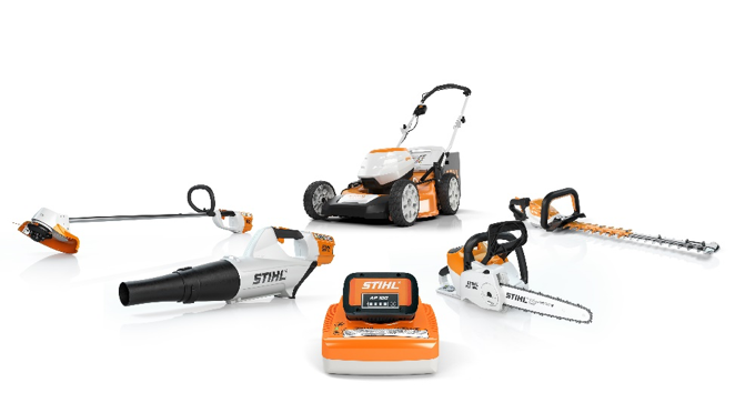 Battery Power. Made By STIHL.