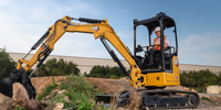 New Cat® 2.7- To 3.5-Tonne Mini Hydraulic Excavators Offer Class-Size Industry-First Features
