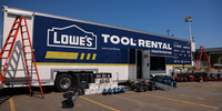 Lowe's Tool Rental Disaster Response Trailer Aids Hurricane  Recovery