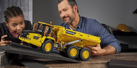 Could You Pull A 100-Ton Volvo Hauler Using Only LEGO® Technic™ Elements?