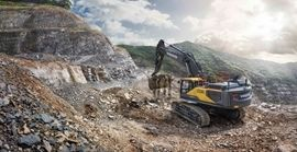 Volvo Construction Equipment Introduces Two New Excavators in 50-Ton Class Size